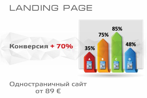 Одностраничный сайт Landing Page – эффективный сайт!